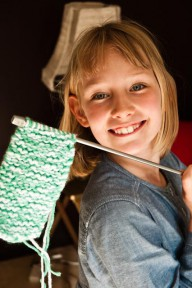children, craft, knitting, projects, lesson