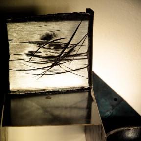 conrad hicks etching art piece