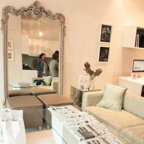Creative space at Room 13 graphic design studio, Cape Town