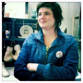 Tanya Laing of Soetkoekie ceramics