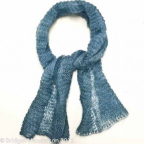 Quick and easy kidsilk scarf