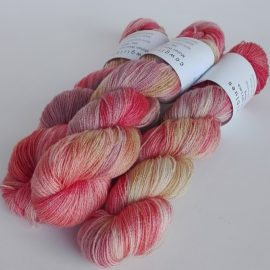 Mohair Wool 2ply Lace Skeins