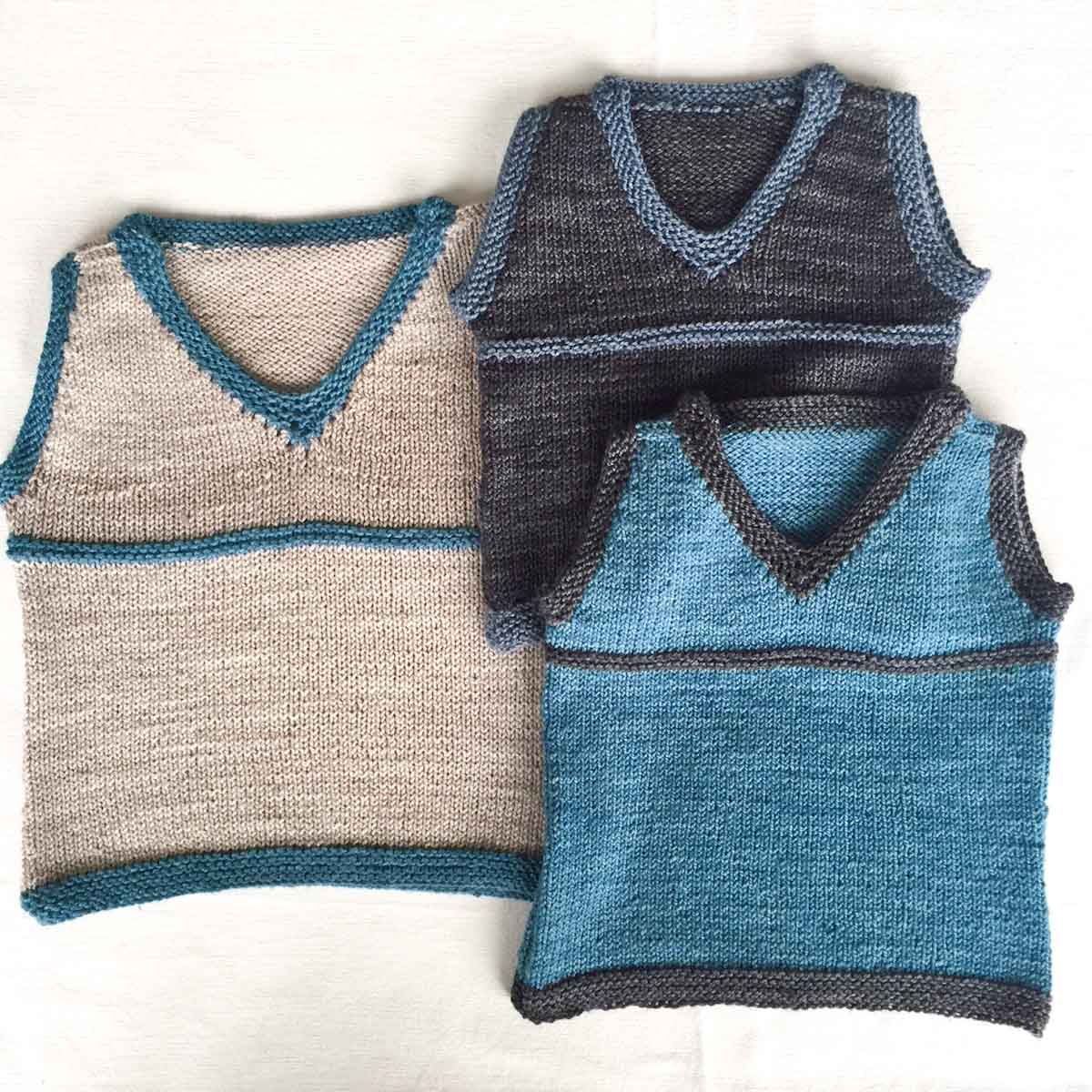 Cowgirlblues free knit pattern cute sleeveless vest boys