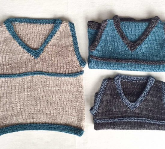 Cowgirlblues free knit pattern sleeveless vest for boys 3 sizes