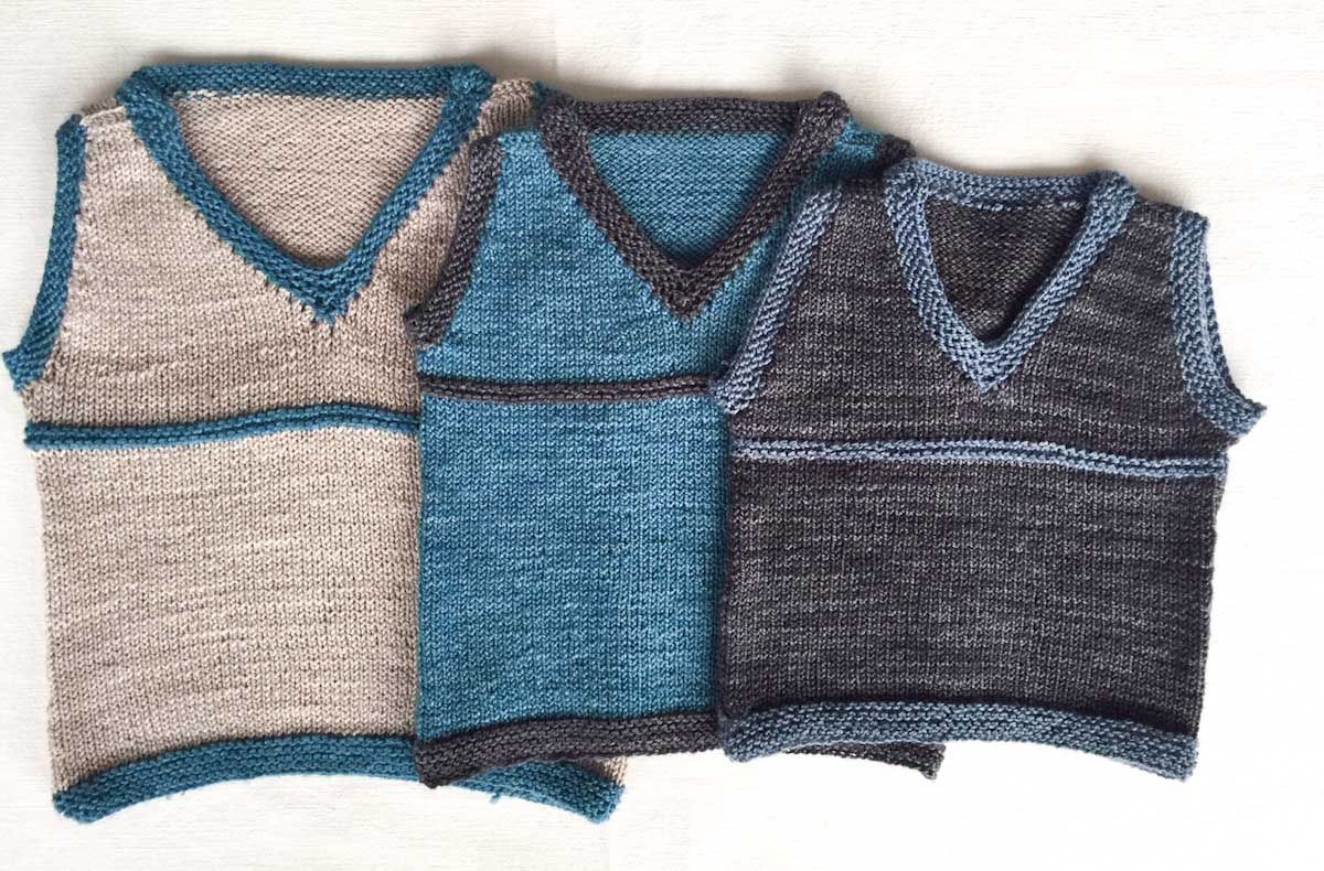 Cowgirlblues free knit pattern sleeveless vest for boys