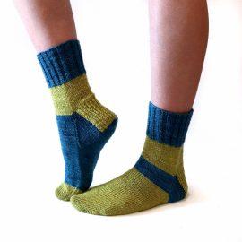 Hand knit socks Cowgirlblues