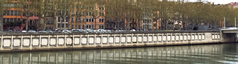 Lyon riverside