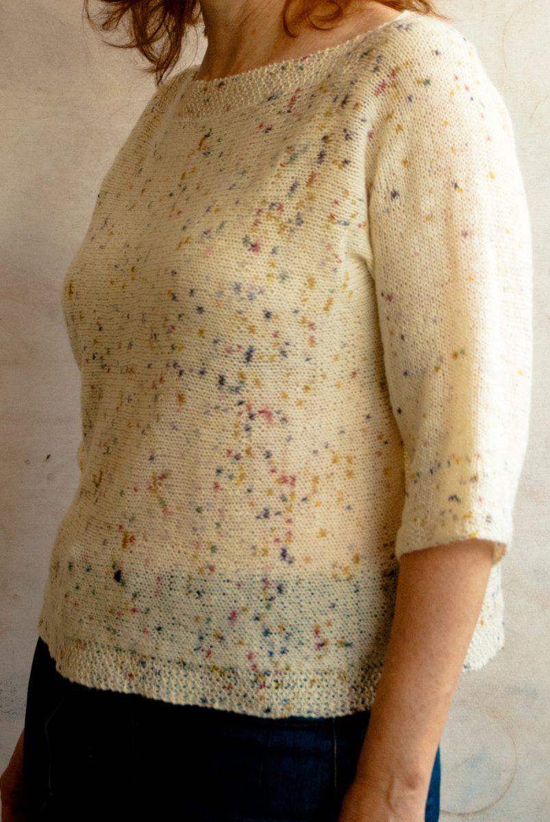 Geneva Free Knit Sweater Pattern Cowgirlblues