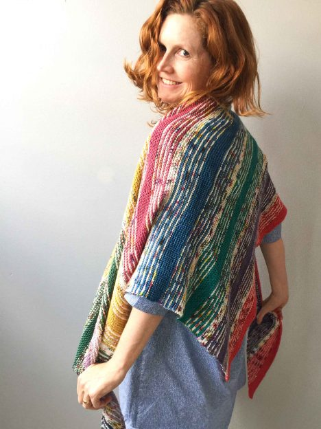 I've got Sunshine Shawl worn by Bridget Henderson