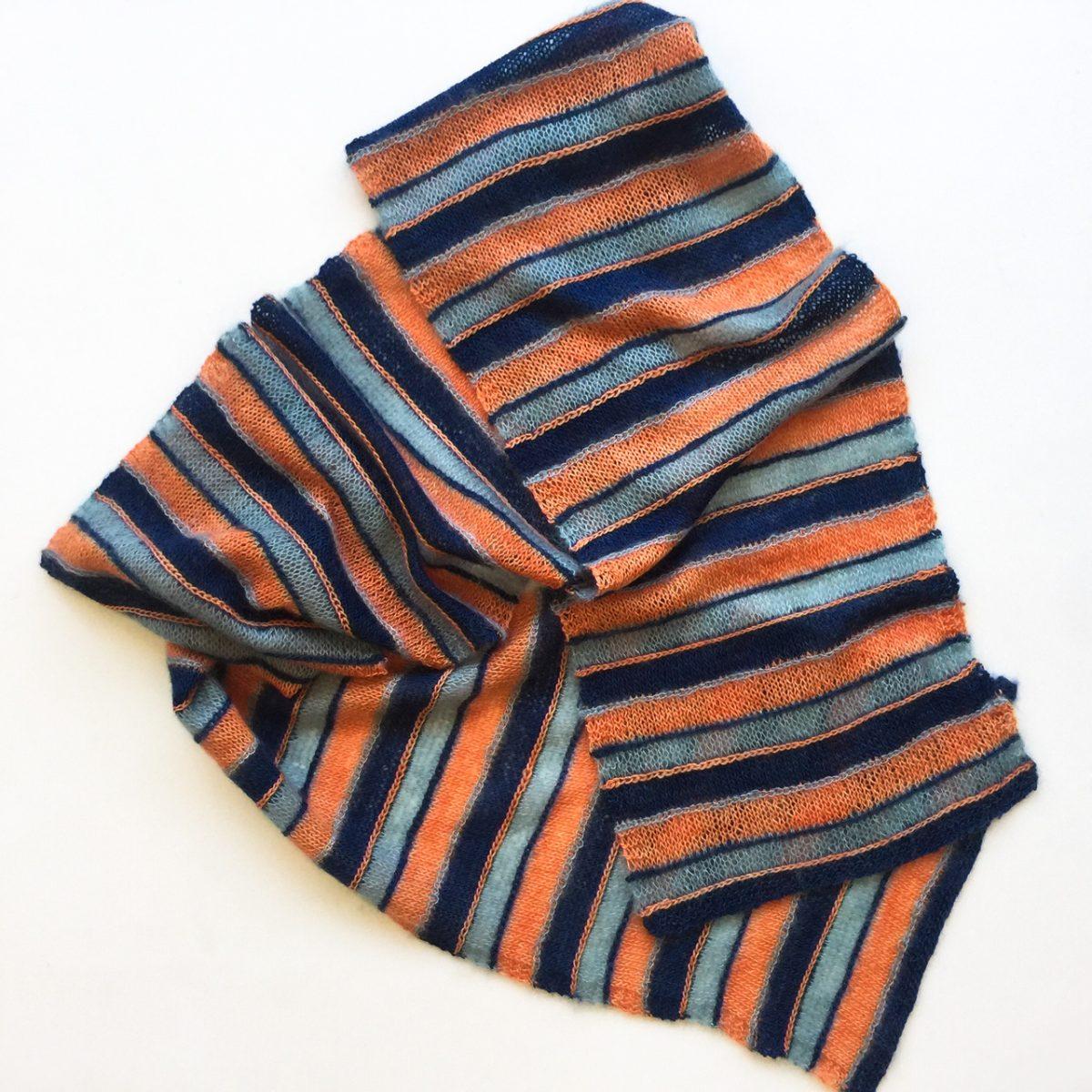 Knit stripes by Cowgirlblues