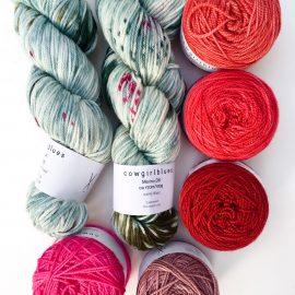 Cowgirlblues hand dyed merino wool