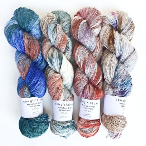 Love Bizarre Merino Lace yarn set