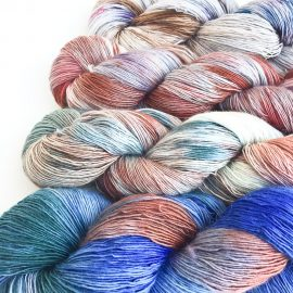 Love Bizarre Merino Lace yarn set