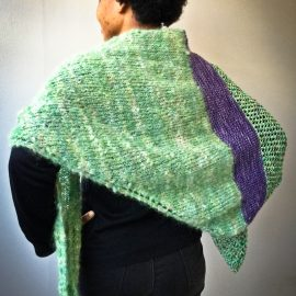 Good Karma Shawl knit kit