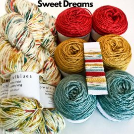 Slipstravangza Merino Twist kit by Cowgirlblues Sweet Dreams