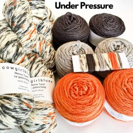 Slipstravangza Merino Twist kit by Cowgirlblues Under Pressure