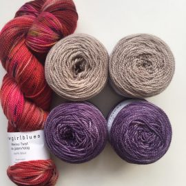 Tainted Love with Sable and Aubergine