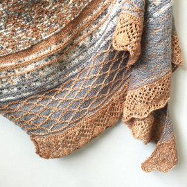 Sweet Dreams Shawl knit by Cowgirlblues