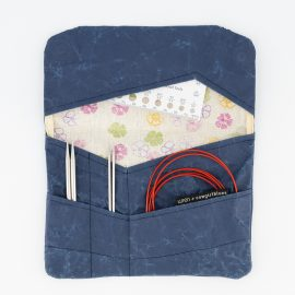 Paper Bag Collection Needle Pouch by Cowgirlblues and Wren Design