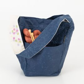 Paper Bag Collection Project Bag by Cowgirlblues and Wren Design