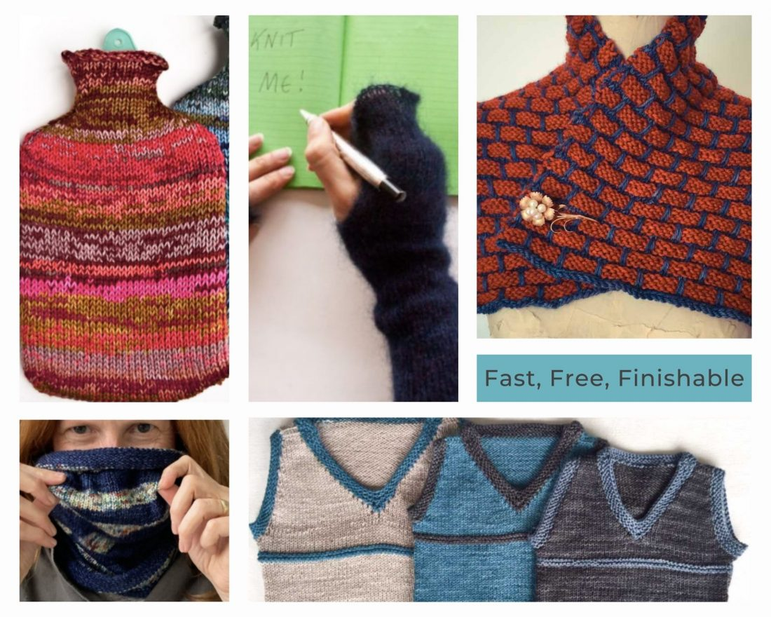 Fast free finishable patterns