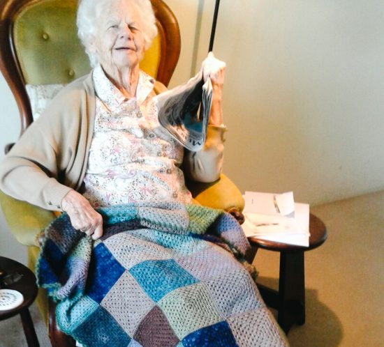 My knitting heritage comes from my grandmother