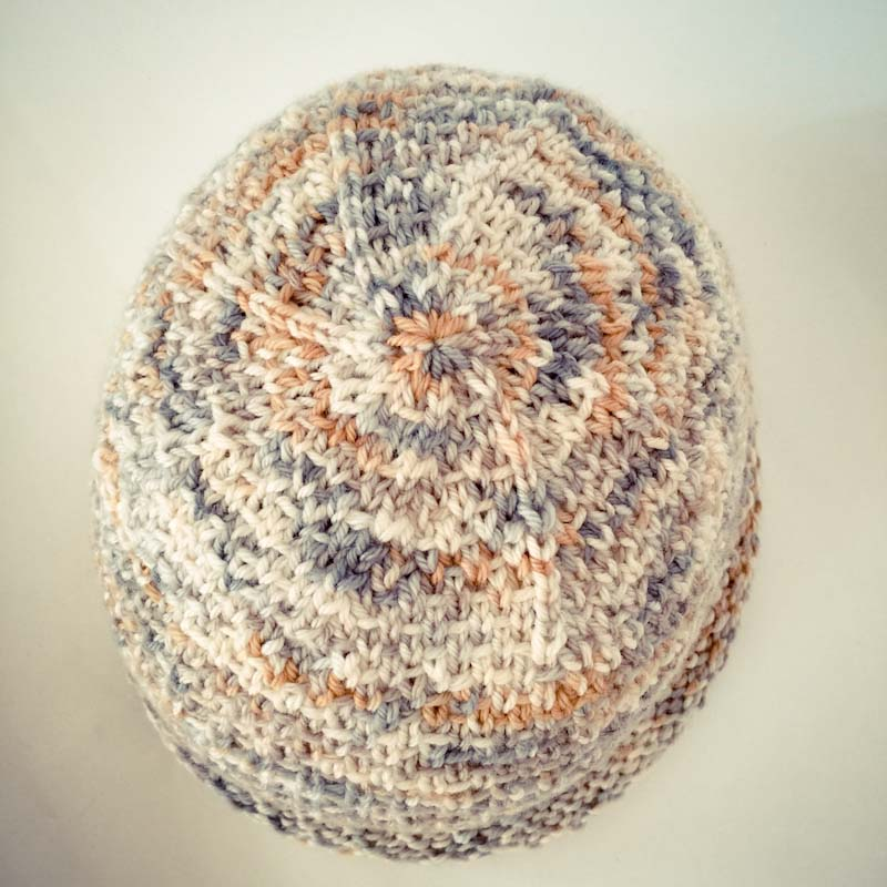Knit beanie cowgirlblues