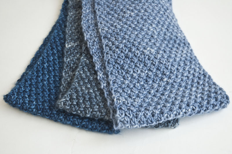 Cowgirlblues double moss stitch knit