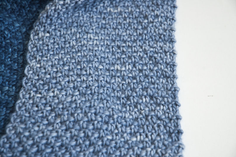 Cowgirlblues double moss stitch knit pattern