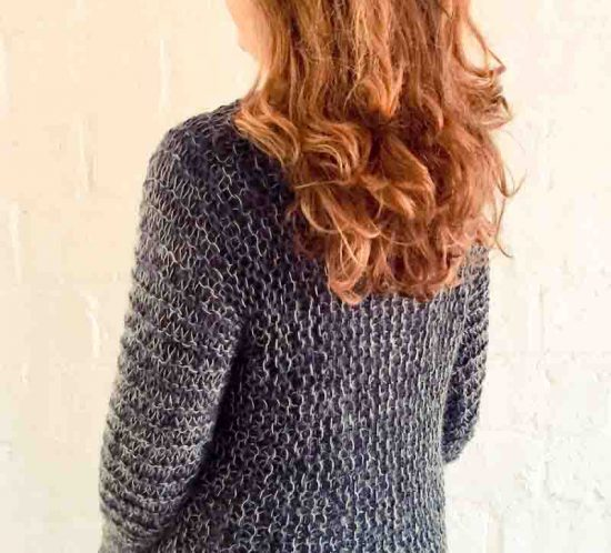 cowgirlblues pullover pattern back
