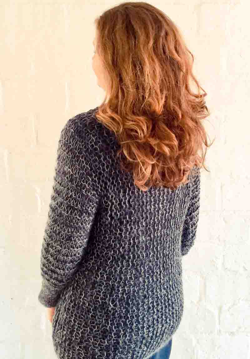 Easy Peasy Pullover Knitting Pattern - cowgirlblues