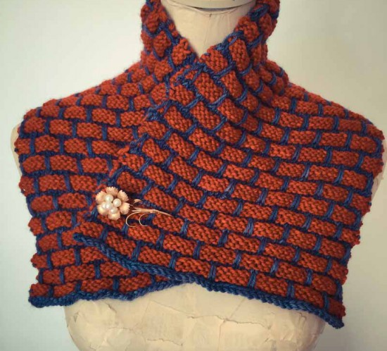 Brick Stitch Scarflet by cowgirlblues