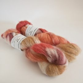 Kidsilk Skein - Caramel:Natural:RubyGrapefruit:Faded Rose