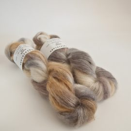 Kidsilk Skein - Silver Fox-Sable-Caramel-Natural