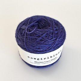 Lace-single-blueberry