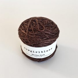 Merino-Sock-Coffee-Bean