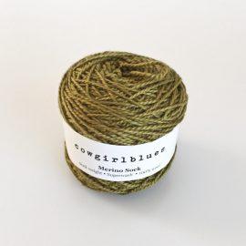 Merino-Sock-Olive