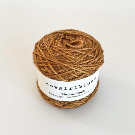 Merino-Sock-Rust