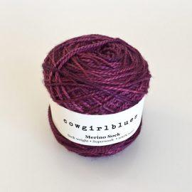Merino-Sock-Violet
