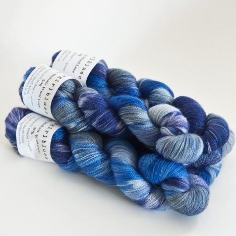 MohairWool Lace Airforce-Cobalt-Blueberry-IcedBerry