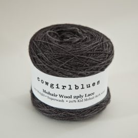 MohairWool Lace Charcoal