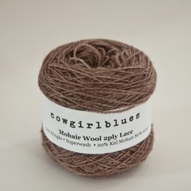 MohairWool Lace Cocoa