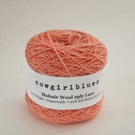 MohairWool Lace Coral