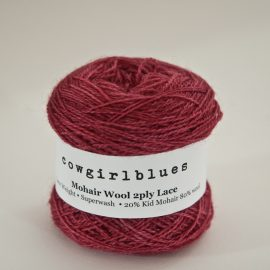 Mohair Wool 2ply Lace Ball