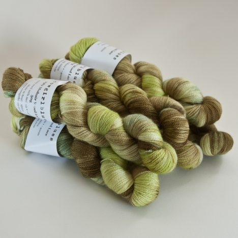 MohairWool Lace Heather-Olive-Sage-Spring