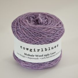 MohairWool Lace Lilac
