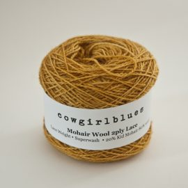 MohairWool Lace Mustard