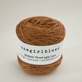 MohairWool Lace Rust