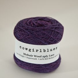 MohairWool Lace Violet