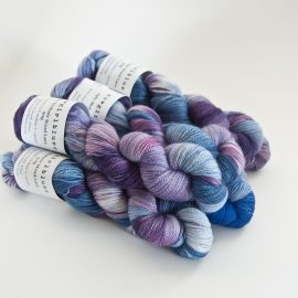 MohairWool Lace Violet-Lilac-IcedBerry-Tanzanite